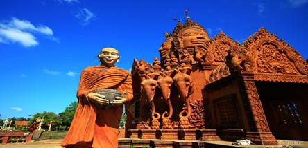 重庆到柬埔寨印象吴哥、金边6日游(白天0自费)