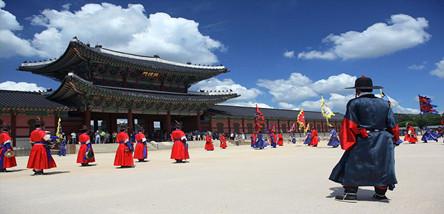 重庆到韩国旅游:首尔3-2半自由行5日游
