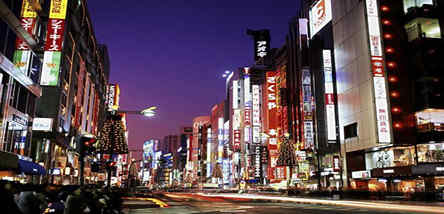 重庆到日本东京、横滨、伊豆河津赏樱双飞6日游