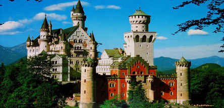重庆到欧洲法德瑞意4国11天游(新天鹅堡)
