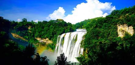 重庆到黄果树瀑布、天星桥、陡坡塘瀑布、西江