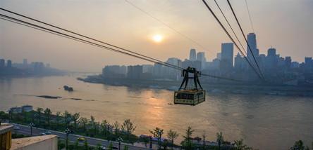 重庆、武隆天坑、仙女山、民国街、磁器口洪崖